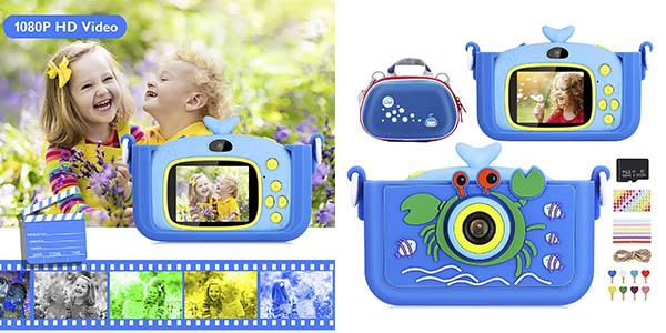 Luclay cámara digital infantil chollo