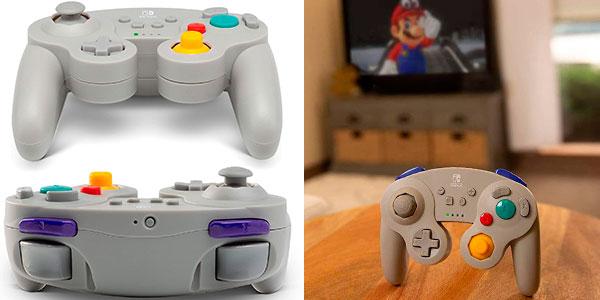 Mando inalámbrico para Switch de estilo GameCube barato