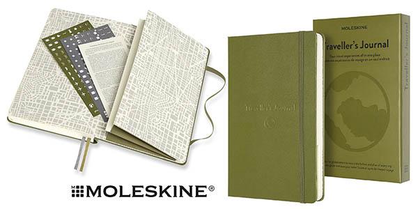 Moleskine traveller's journal chollo