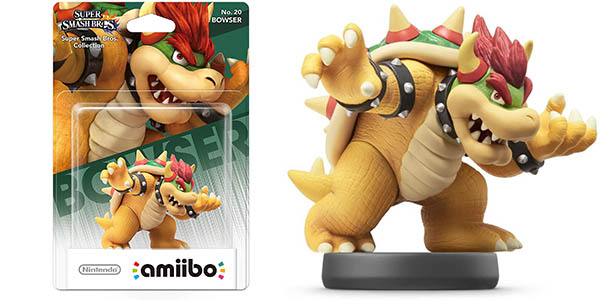Amiibo Bowser de Super Smash Bros
