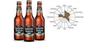 Pack x24 botellines cerveza Estrella Galicia 0,0 Tostada chollo en Amazon