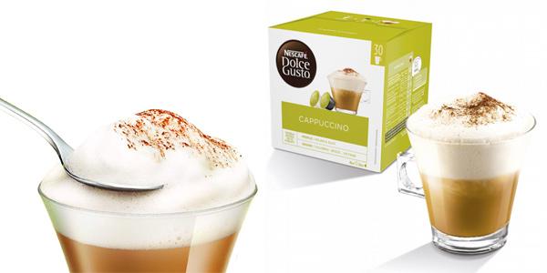 Pack x90 cápsulas de café Dolce Gusto Cappuccino extra cremoso chollo en Amazon