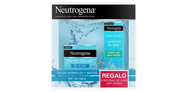 Pack Hidratante facial Neutrogena Hydro Boost barato en Amazon