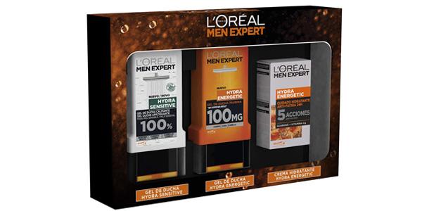 Pack L'oreal Men Expert ducha y anti fatiga barato en Amazon