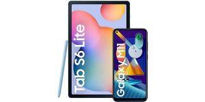 Tablet Samsung Galaxy Tab S6 Lite + móvil Samsung Galaxy M11