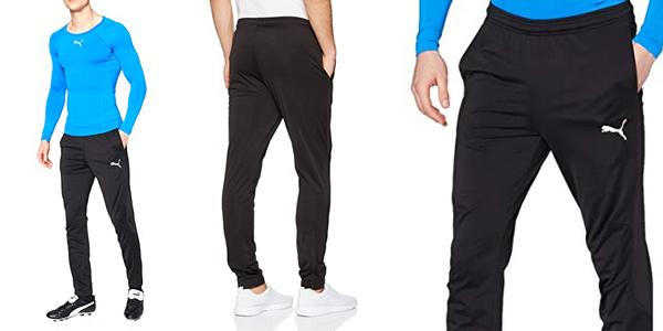 Pantalón deportivo Puma Liga Sideline Poly Core para hombre barato en Amazon