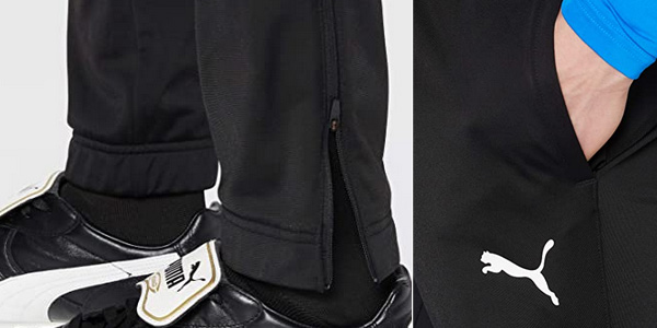 Pantalón deportivo Puma Liga Sideline Poly Core para hombre chollo en Amazon