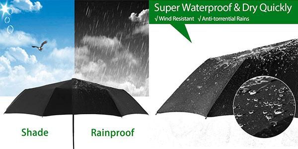 Paraguas plegable automático Newdora barato