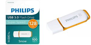 Pendrive Philips SNOW de 128 GB USB 3.0