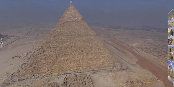 pirámides Giza recorrido gratuito online