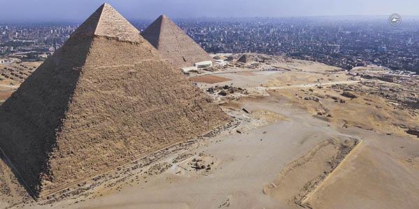 pirámides Giza tour virtual