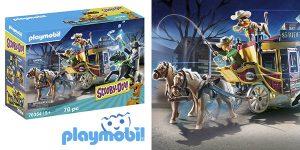 Playmobil 70364 Scooby Doo aventura salvaje oeste chollo