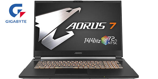 "Portátil Gigabyte AORUS 7 KB-7ES1130SD de 17.3"" FHD 144Hz"