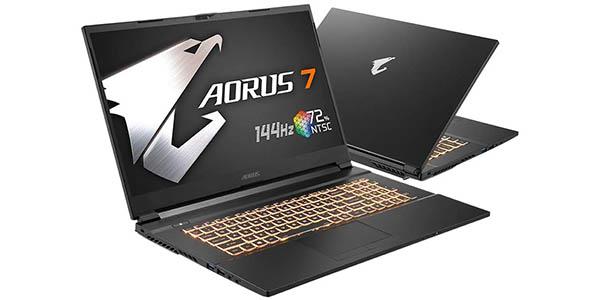 """Portátil Gigabyte AORUS 7 KB-7ES1130SD de 17.3"""" FHD 144Hz barato"""