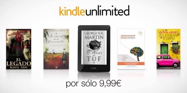 Precio Kindle Unlimited