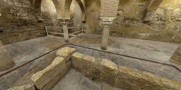 recorrido online baños árabes Jaén
