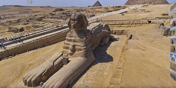 recorrido virtual Pirámides Giza