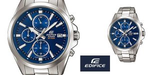 Reloj analógico Casio Edifice EFV-560D-2AVUEF para hombre barato en Amazon