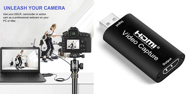 Salley capturadora vídeo HDMI oferta
