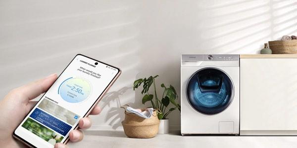 Tecnología de lavadoras inteligentes Samsung