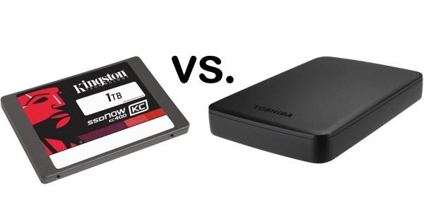 SSD SATA vs disco duro portátil