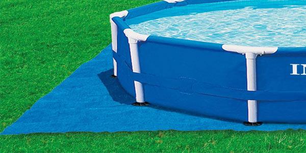 Tapiz de 472 cm Intex 28048 para piscinas de 244, 305, 366 y 457 cm barato en Amazon