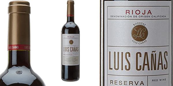 Vino tinto Luis Cañas Reserva d.o. Rioja de 750 ml barato en Amazon