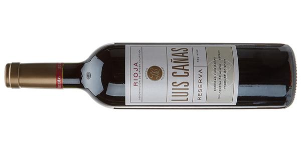 Vino tinto Luis Cañas Reserva d.o. Rioja de 750 ml chollo en Amazon