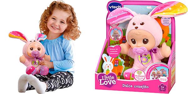 Muñeca interactiva VTech Little Love Dulce Conejito barata