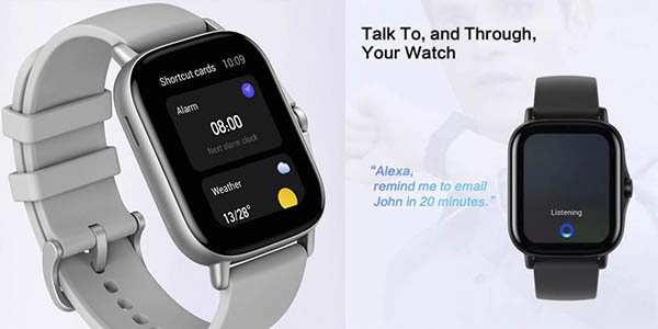 Xiaomi Amazfit GTS 2 smartwatch cupón descuento