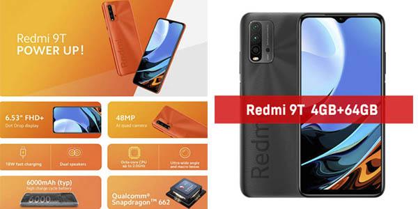 Xiaomi Redmi 9T smartphone chollo