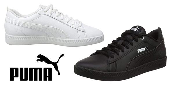 Zapatillas Puma Smash Leather baratas
