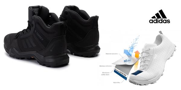 Zapatillas de senderismo adidas Terrex Ax3 Mid GTX para hombre oferta en Amazon