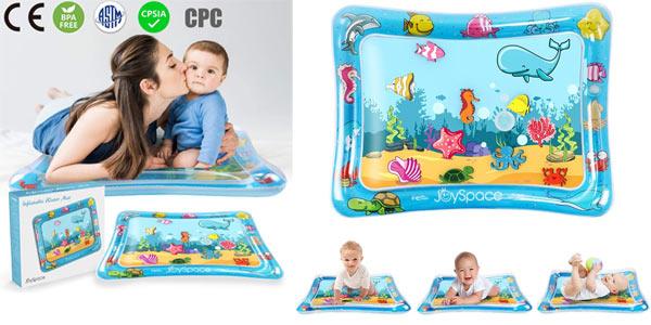 Alfombra inflable de agua Joyspace para bebé barata en Amazon
