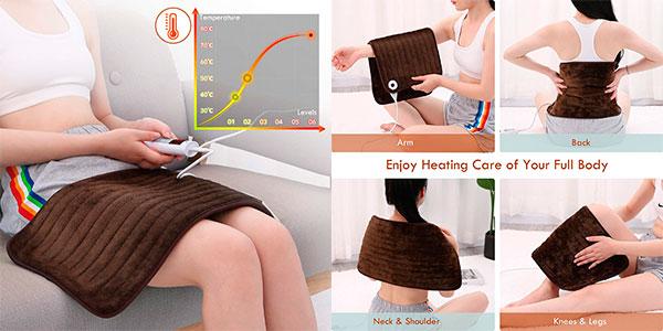 Almohadilla térmica eléctrica Entil para cuello y hombros barata