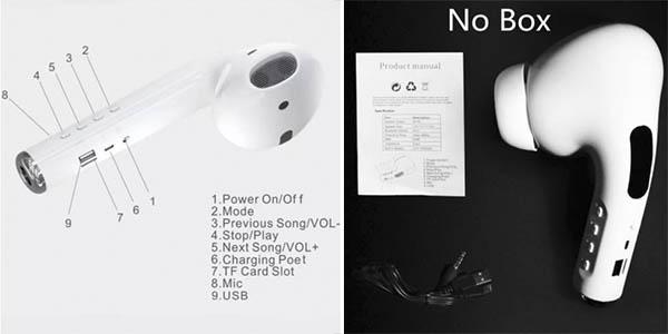 altavoz diseño Airpods gigante calidad sonido oferta