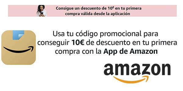 Amazon App cupón descuento