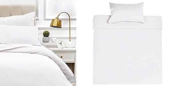 Amazon Basics juego ropa de cama funda nórdica chollo