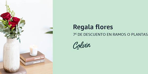 Amazon Colvin descuento flores
