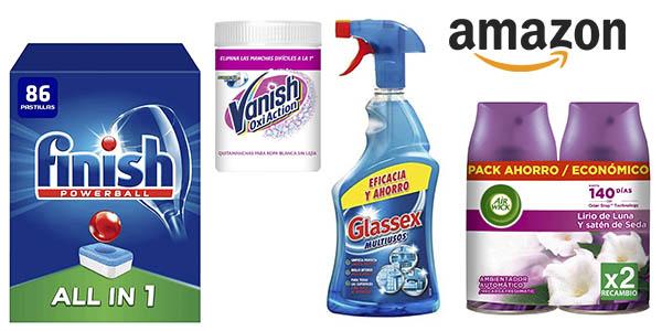 Amazon promoción productos higiene ambientadores