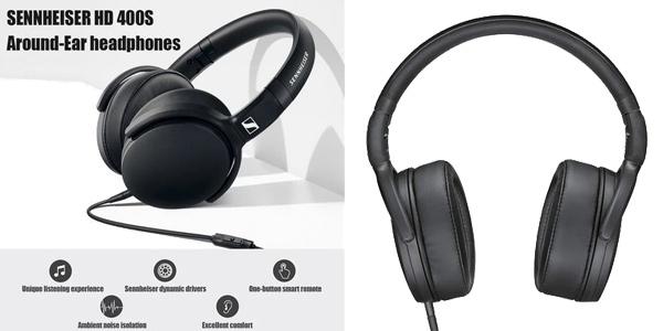 Auriculares de diadema Sennheiser HD 400S chollo en AliExpress