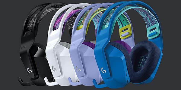 Auriculares inalámbricos gaming Logitech G733 barato