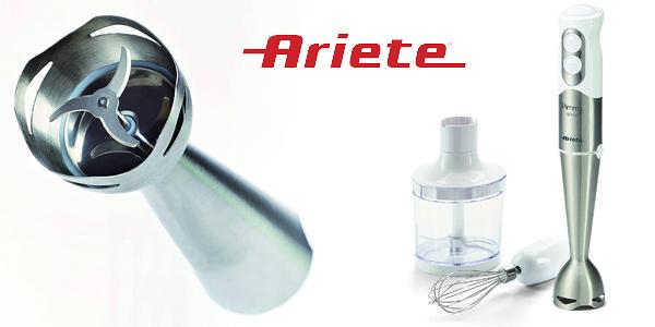 Batidora Ariete Pimmy de 500W con accesorios barata en Amazon
