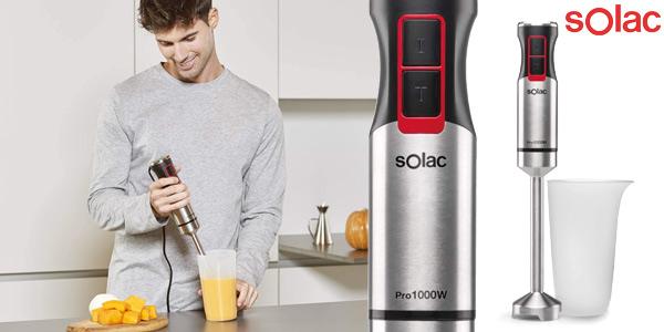 Batidora de mano Solac Pro 1000 de 1.000W + vaso medidor barata en Amazon