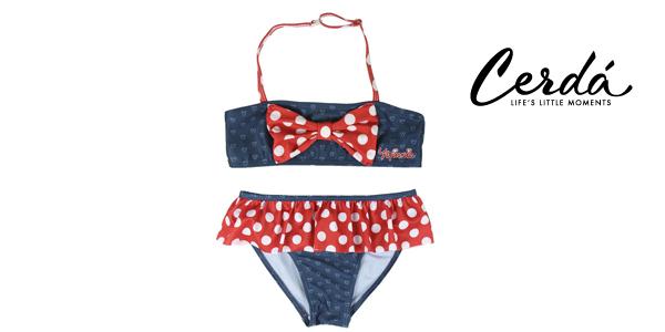 Bikini Minnie de Cerdá para niñas barato en Amazon