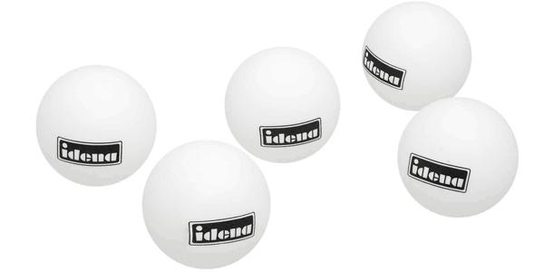 Bote con 36 pelotas de ping pong Idena chollo en Amazon