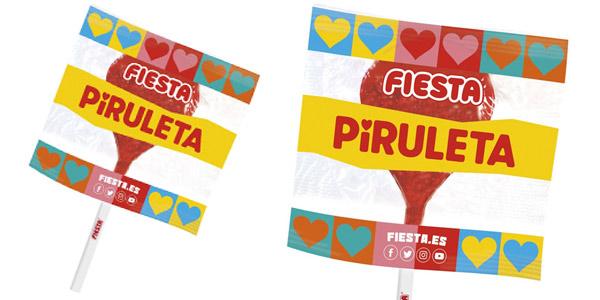 Caja x80 Piruletas de caramelo Fiesta sabor cereza chollo en Amazon