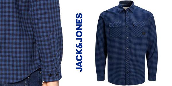 Camisa de cuadros Jack & Jones Jcosteve para hombre chollo en Amazon