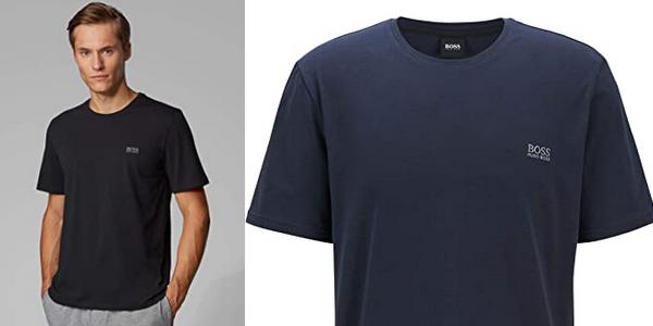 Camiseta de manga corta Boss Mix & Match T-Shirt R para hombre chollo en Amazon