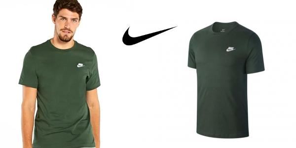 Camiseta de manga corta Nike Club para hombre chollo en Sprinter